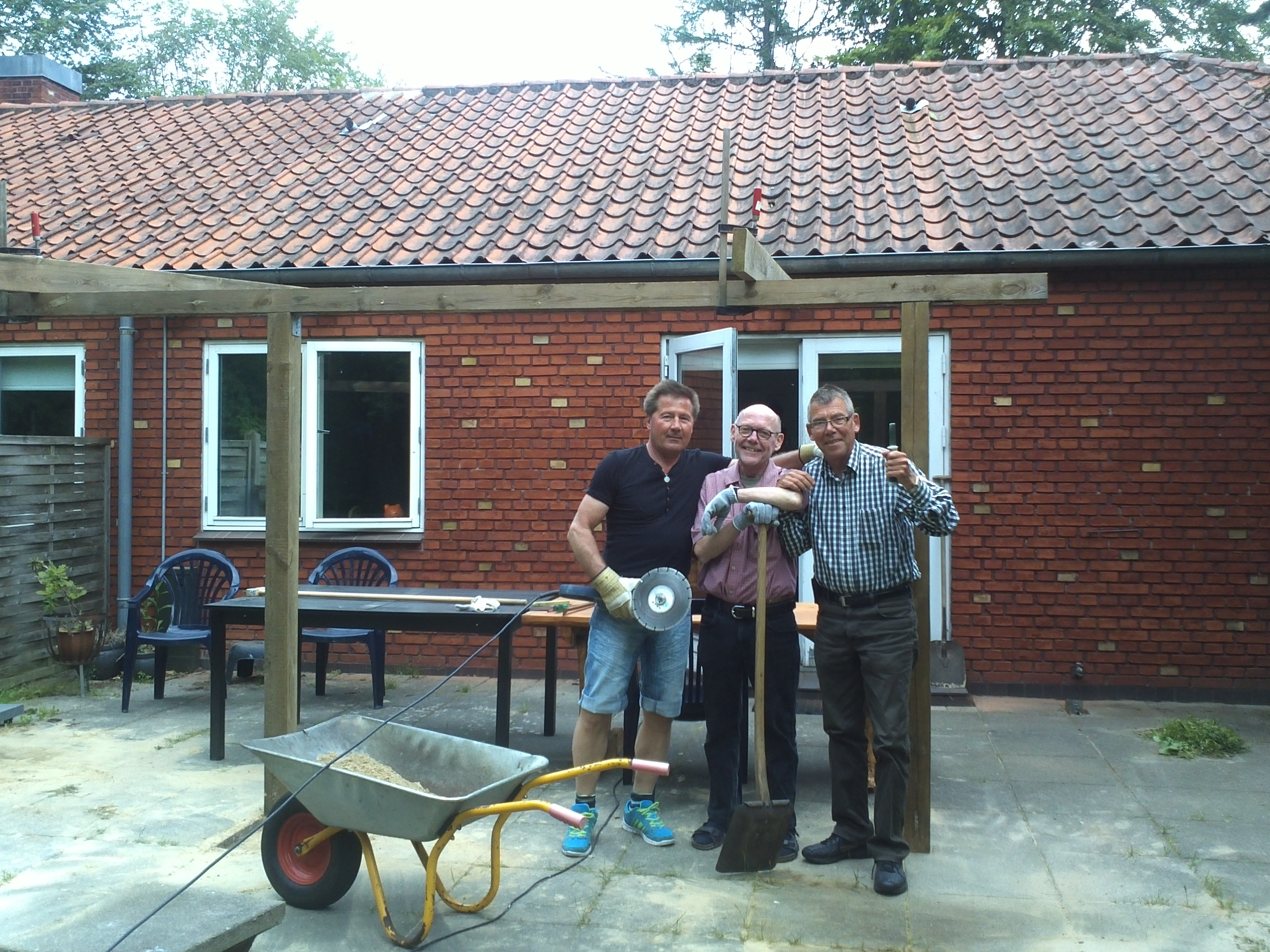 Skelhuset – forest cottage for young onset dementia activities